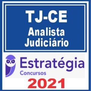 Pacote Completo p/ TJ-CE (Analista Judiciário - Área Judiciária) - 2021 - Pré-Edital